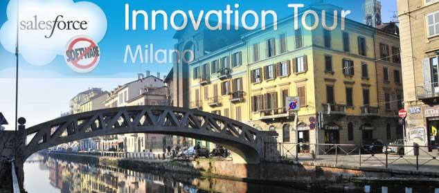 Salesforce Milan innovation  Tour