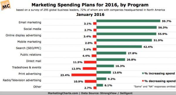 Marketing Expenditure as Percentage of Revenue?