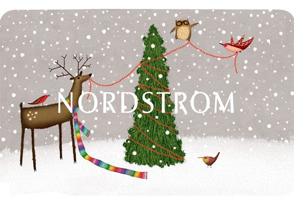 nordstrom gift card - ways to create online holiday sales
