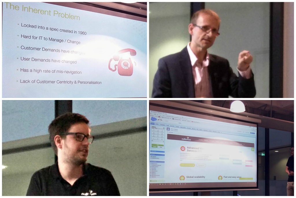 CTI Natterbox presentation at Brighton Salesforce Usergroup, sponsored by CloudAnalysts