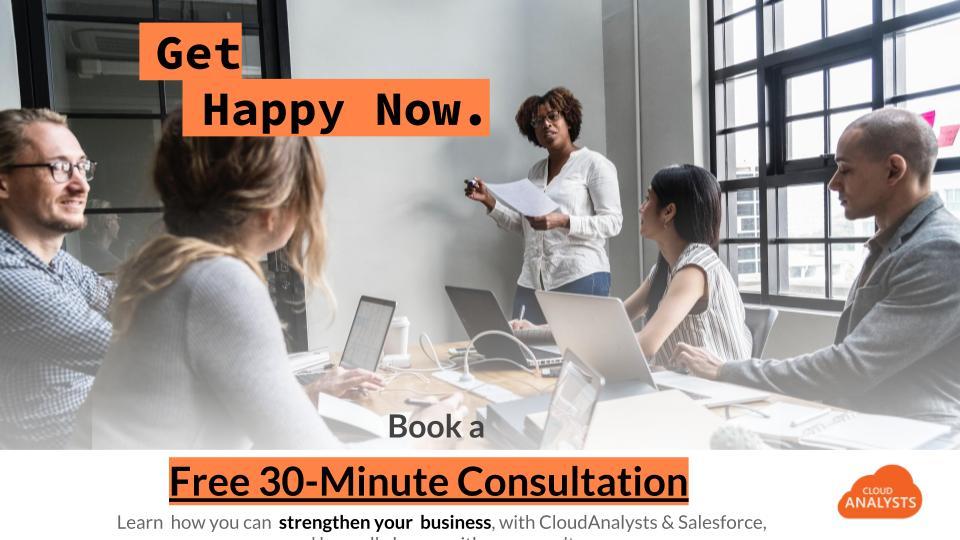 Book a free 30 min Pardot Intro Consultation