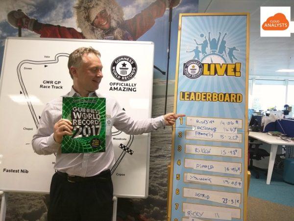 Salesforce Pardot London - Guinness world record
