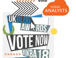 UK BLOG AWARDS: We are NOMINATED