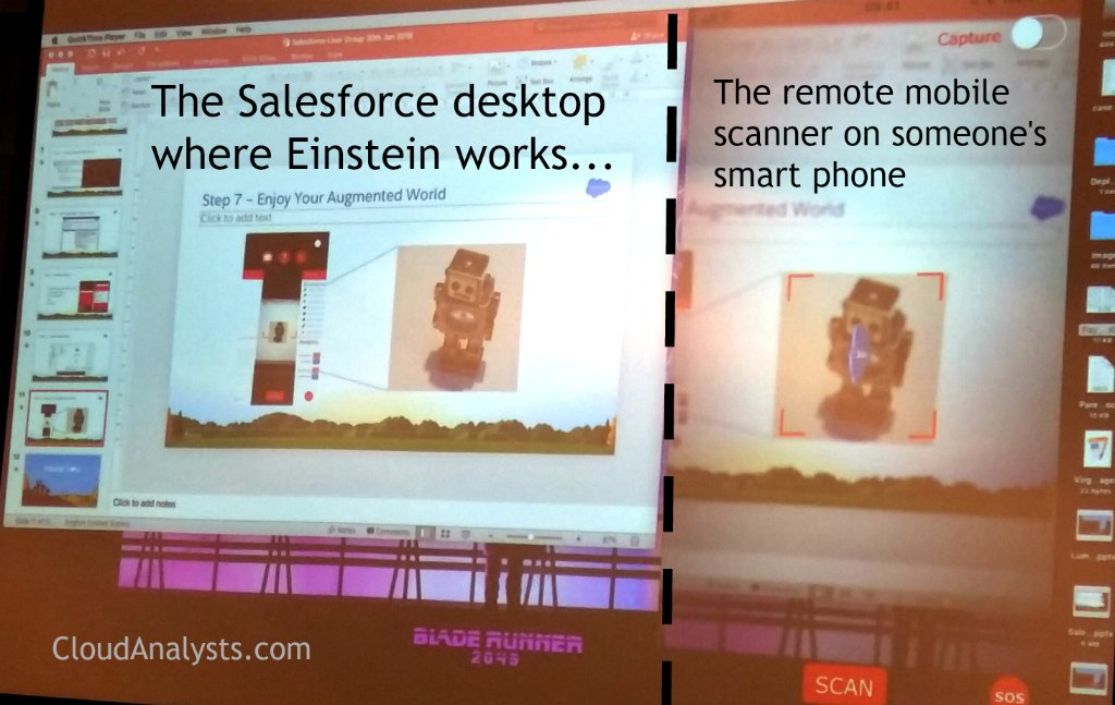 Salesforce Einstein Artificial Intelligence + Virtual Reality - BSUG - organised by CloudAnalysts.com