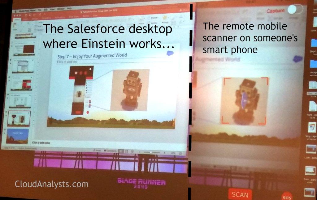 Salesforce Einstein Artificial Intelligence + Virtual Reality - BSUG - organised by CloudAnalysts.com