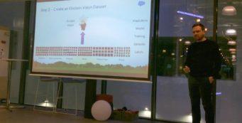 simon-cooke Salesforce AI Virtual Reality demo