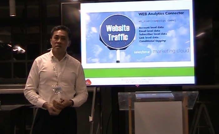 Jimson Lee on Integrating Google Analytics 360, Salesforce and Marketing Cloud https://www.cloudanalysts.com/integrating-google-analytics-360-salesforce-marketing-cloud/