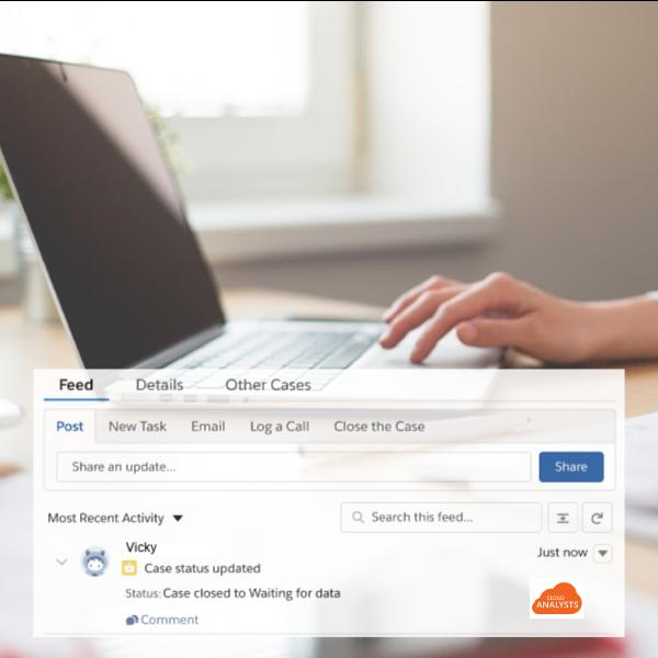 Healthcare Service Cloud - ENQUIRY MANAGEMENT - copyright CloudAnalysts