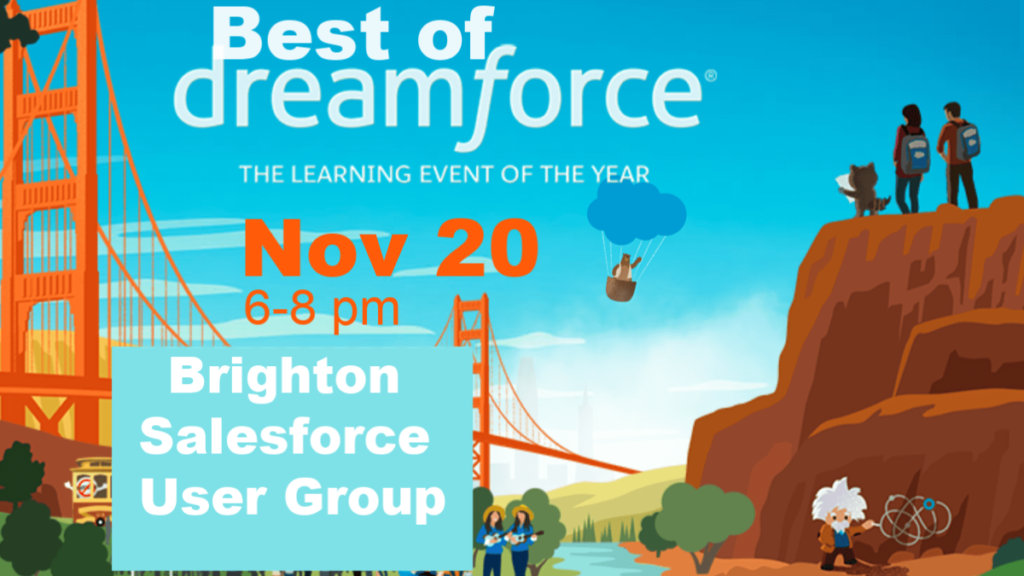 Best of Dreamforce 2018 Nov 20