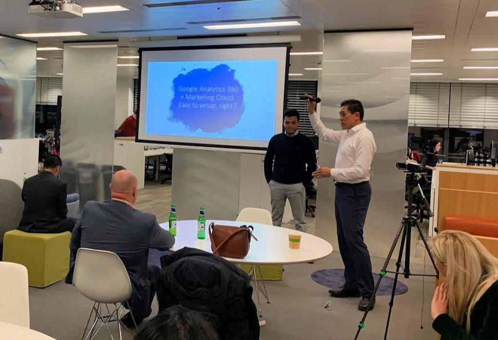 Google 360 SFMC Case Study - Demo at London Salesforce