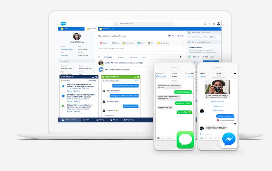 Elevate Customer Journeys with  LiveMessage - Salesforce for Messenger