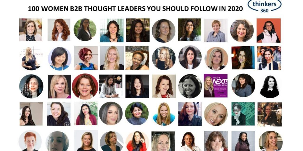 CloudAnalysts in top 100 Women B2B Thought Leaders you should follow in 2020
