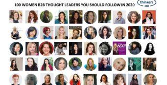 top 100 Women B2B Thought Leaders You Should Follow in 2020