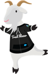 Salesforce Mascots - Cloudy, the goat