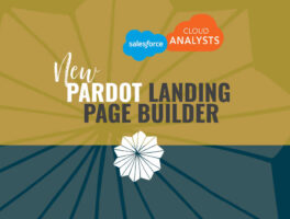 New Pardot landing page builder